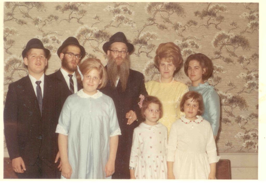 Family Picture Yingy Bar Mitzvah